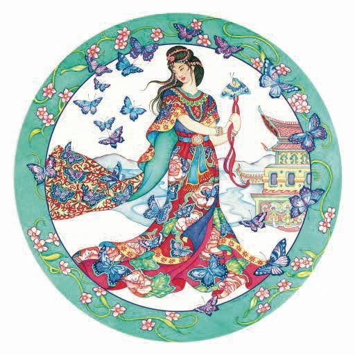 Butterfly Maiden - 500 piece SunsOut puzzle - for Ages 12+