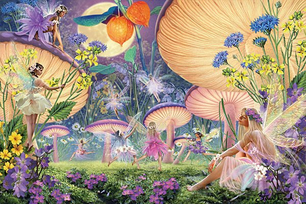 Fairy Ring - 300 piece Ravensburger puzzle - for Ages 9+