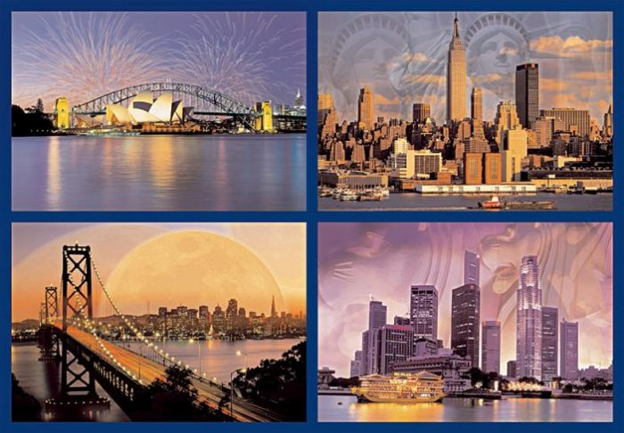 Skylines of the World - 18,000 piece Ravensburger puzzle - for Ages 12+