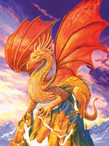 Windswept Dragon - 1,000 piece SunsOut puzzle - for Ages 12+