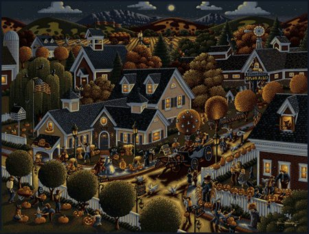 All Hallows Eve - 500 piece MasterPieces jigsaw puzzle - for Ages 12+