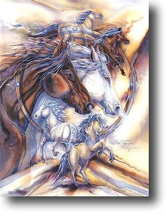 Wild Spirits - 750 piece MasterPieces puzzle - for Ages 12+