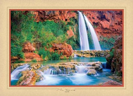 Havasu Falls - 1000 piece MasterPieces puzzle - for Ages 12+