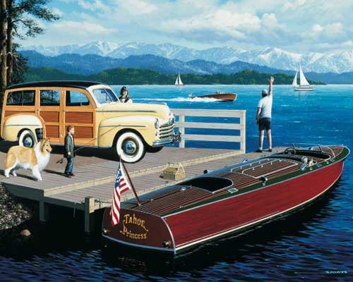 Lake Classics - 1,000 piece White Mountain puzzle - for Ages 12+