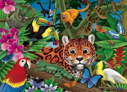 Amazon Rainforest - 300 Large Piece White Mountain puzzle - for Ages 12+