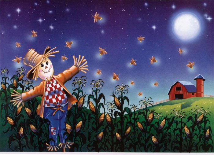 Fantastic Fireflies - 100 piece Glow In the Dark puzzle