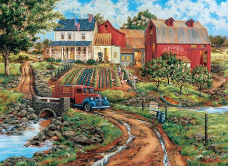 Grandma's Garden - 1000 piece MasterPieces Puzzle - for Ages 12+