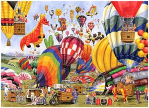 Hot Air Ballooning - 1,000 piece jigsaw puzzle