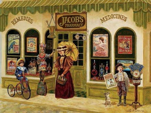 Jacob's Pharmacy - 1,000 piece SunsOut puzzle - for Ages 12+