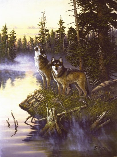 Singer of Sad Songs - Wolves - 1,000 piece SunsOut puzzle - for Ages 12+