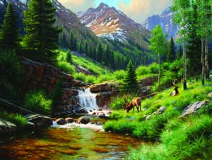High Country Hideout - 500 piece SunsOut puzzle - for Ages 12+