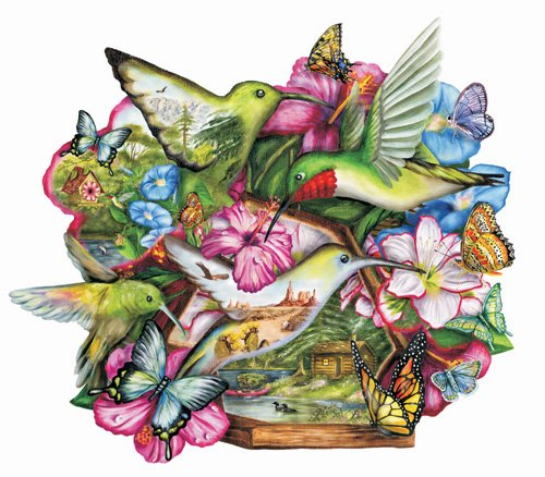 Flutter By - 600 piece SunsOut puzzle - for Ages 12+