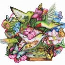 Flutter By - 600 piece SunsOut puzzle - for Ages 12+