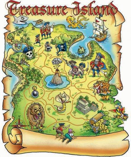 Treasure Map - 200 piece SunsOut puzzle - for Ages 7+