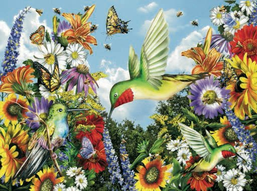 Save the Bees - 1,000 piece SunsOut puzzle - for Ages 12+