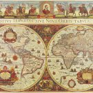 World Map 1665 - 3,000 piece Ravensburger puzzle - for Ages 12+