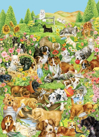 Canine Pals - 1000 piece puzzle - for Ages 12+