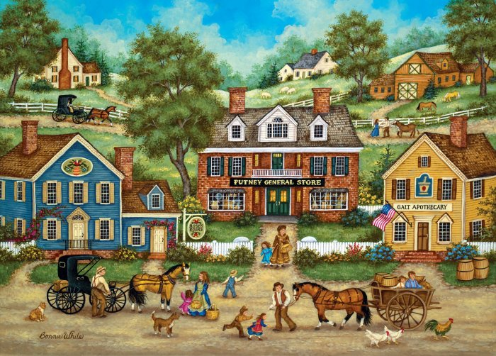 Runaway Rooster  - 2,000 piece MasterPieces puzzle - for Ages 12+