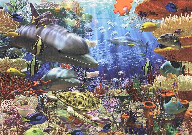Oceanic Wonders - 3,000 piece Ravensburger puzzle - for Ages 12+