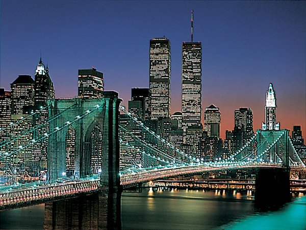 New York City Brooklyn Bridge - 2,000 piece Ravensburger puzzle - for Ages 12+
