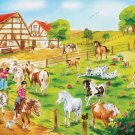 Pony Farm - 100 piece Ravensburger puzzle - for Ages 6+