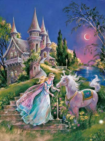 The Magical Unicorn - 60 piece Ravensburger puzzle - for Ages 4+