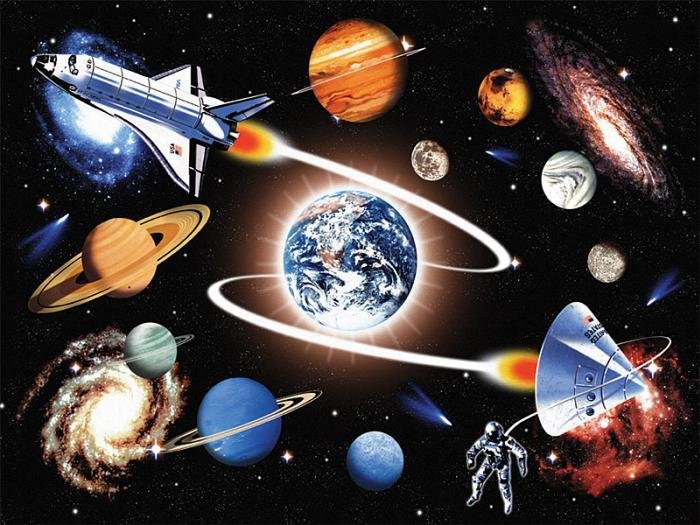 In The Galaxy - 60 piece Ravensburger puzzle - for Ages 4+