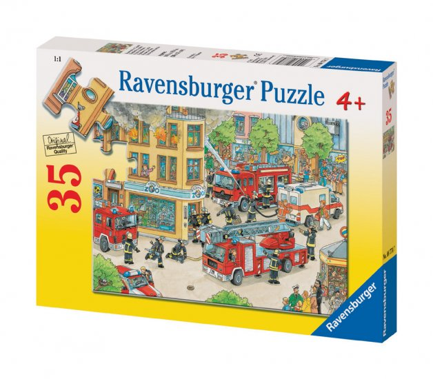 Firemen On Duty - 35 piece Ravensburger puzzle - for Ages 4+