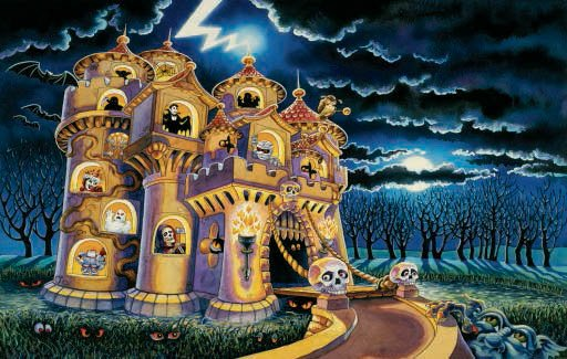 Haunted Castle - 100 piece SunsOut puzzle - for Ages 6+