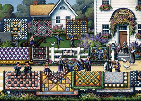 Quilting Country - 1000 piece MasterPieces jigsaw puzzle - for Ages 12+