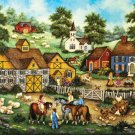 Barnyard Meeting - 500 piece MasterPieces jigsaw puzzle - for Ages 12+