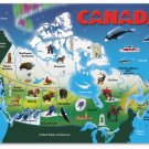 Map of Canada - 31 piece Melissa & Doug wooden puzzle - Ages 5+