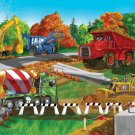 Construction Site - 30 piece Melissa & Doug puzzle - for Ages 3+