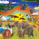 Safari Adventure - 200 piece Melissa & Doug jigsaw puzzle - for Ages 8+