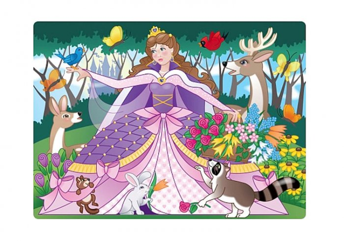 Woodland Princess - 24 piece Melissa & Doug puzzle - Ages 3+
