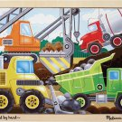 Construction Site - 12 piece Melissa & Doug puzzle - Ages 3+