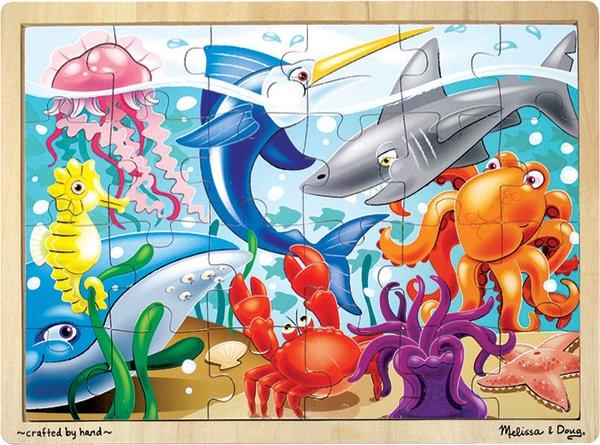 Under the Sea - 24 piece Melissa & Doug puzzle - Ages 3+