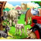 In The Barnyard - 100 piece Melissa & Doug puzzle - for Ages 6+