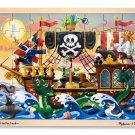 Pirate Adventure - 48 piece Melissa & Doug puzzle - Ages 4+