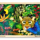 Rainforest - 48 piece Melissa & Doug puzzle - Ages 4+