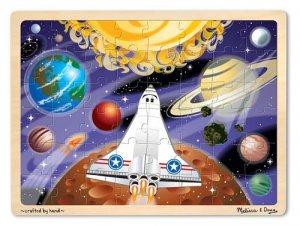 Space Voyage - 48 piece Melissa & Doug puzzle - Ages 4+