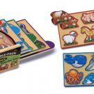 Animals - 16 piece puzzle pack from Melissa & Doug puzzle - Ages 2+