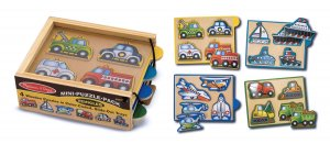 Vehicles - 16 piece puzzle pack from Melissa & Doug puzzle - Ages 2+