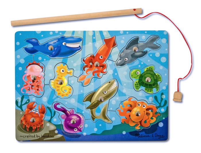 Fishing Magnetic Puzzle Game - By Melissa & Doug  - Ages 3+
