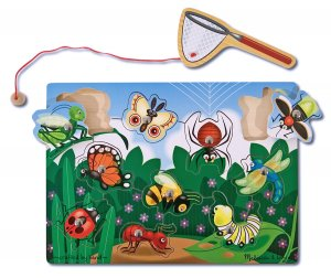 Bug-Catching Magnetic Puzzle Game - By Melissa & Doug  - Ages 3+