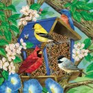 Breakfast Birdhouse  - 1,000 piece White Mountain puzzle - for Ages 12+