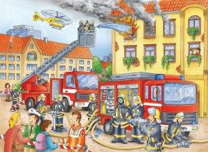 Fire Department - 100 piece Ravensburger puzzle - for Ages 6+