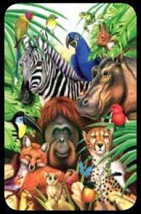 Animal Jungle - Bridge Playing Cards - NEW