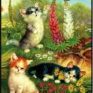 Cats & Butterflies - Bridge Playing Cards - NEW