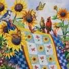 Meeting At the Clothesline - 1000 Large Piece SunsOut puzzle - for Ages 12+